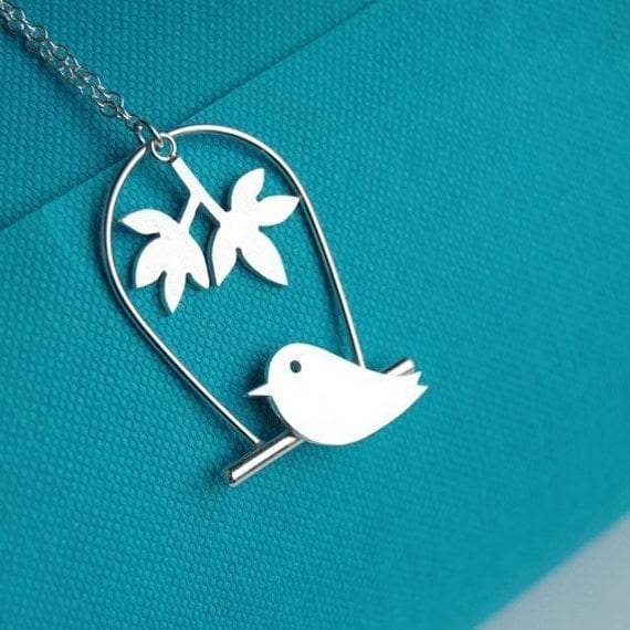 Canary Branch Necklace