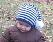 Blue Stocking Cap - Toddler Size - reserved for Kathmix