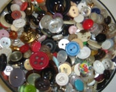 Vintage Button supply supplies lot