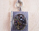 TIME KEEPERS JOURNAL LOCKET