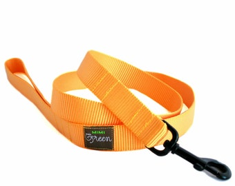 Nylon Webbing Dog Leash - 6 feet - 17 colors to choose from