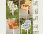 DIY Patio Chair Pads pattern by Burda Deco 1973  from 1999