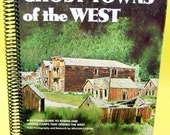 Ghost Towns of the West recycled book blank large journal