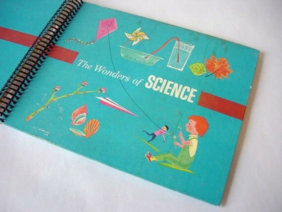 The Wonders of Science, recycled book journal