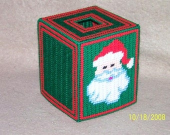 259 Santa Claus Tissue Box Cover