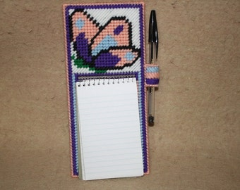 507 Butterfly note paad holder