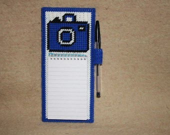 552 Camera  note pad holder pic