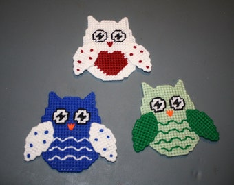 548 Owl magnets