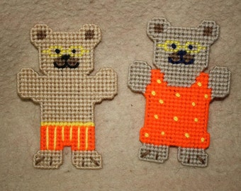 538 August Bear Magnets