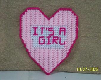 It's a girl heart magnet