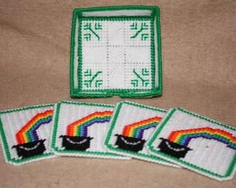 St Patricks Coaster Set
