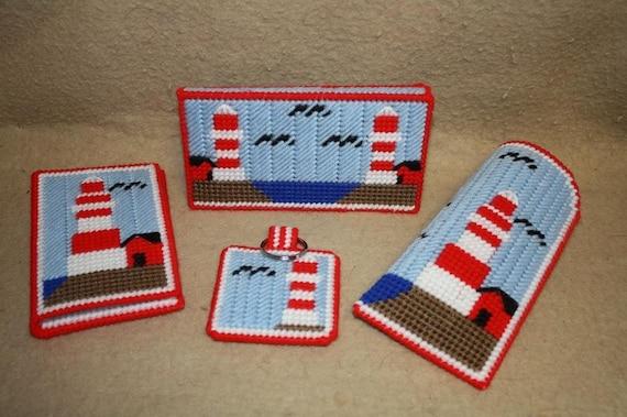 465 Lighthouse purse set
