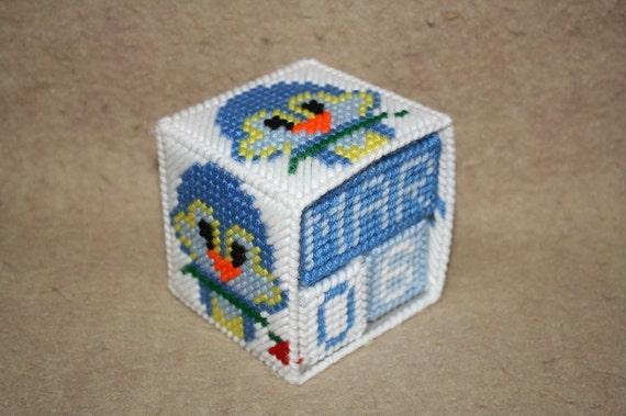 Love bird block calendar