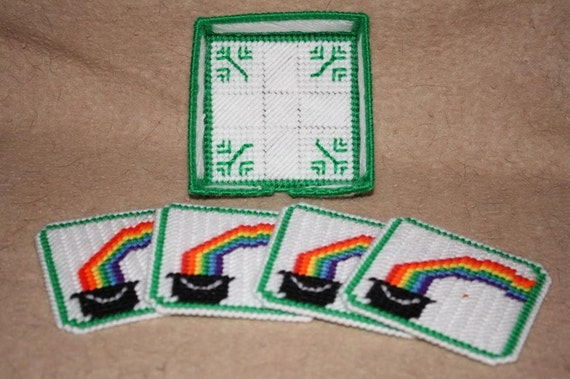 St Patricks Coaster Set