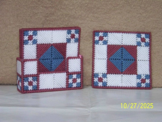 Quilt Coaster Set
