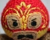 Crochet Pattern- El Ciclon Panzon Luchador/Mexican Wrestler Amigurumi