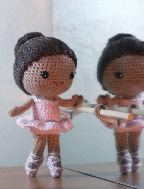 Crochet Pattern Brisa the ballerina amigurumi doll