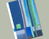 Birthday Card - blue\/green