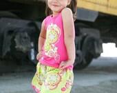 Boutique Outfit applique tank top and skirt SET.....12M 18M 2T 3T 4T 5T 6