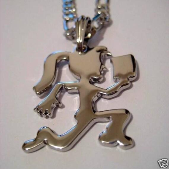 hatchet icp pendant charm w 24 inch figaro chain