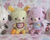 Baby Animals -PDF crochet pattern