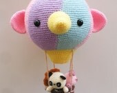 Hot Air Balloon Amigurumi- PDF Crochet Pattern