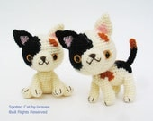 Spotted Cat - PDF Crochet Pattern