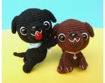 Labrador Retriever Puppy - PDF Crochet Pattern