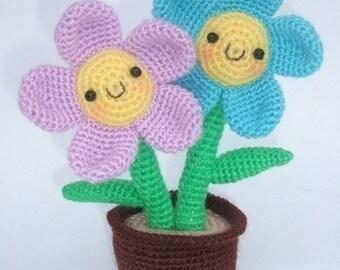 Cosmo Flower - PDF Crochet Pattern