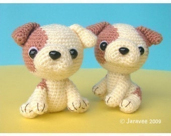 English Bulldog Puppy - PDF Crochet Pattern