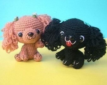 English Cocker Spaniel Puppy - PDF Crochet Pattern