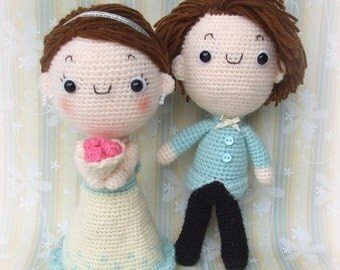 Happy Wedding - PDF Crochet Pattern