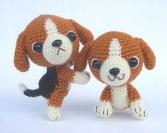 Beagle Puppy - PDF Crochet Pattern