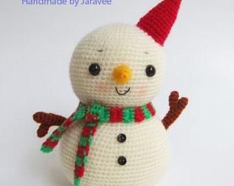 Snowman - PDF Crochet Pattern