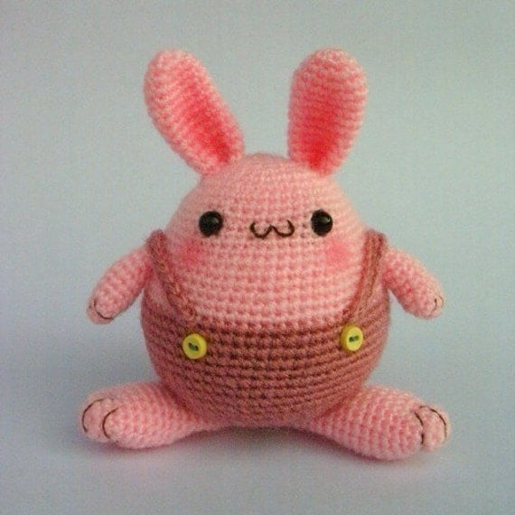 Items similar to Easter Bunny Egg - PDF Crochet pattern on ...