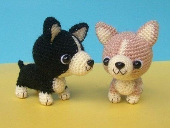 Welsh Corgi Puppy - PDF Crochet Pattern