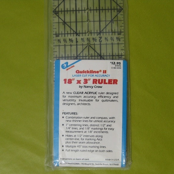 Quickline II by Nancy Crow Quilting Ruler