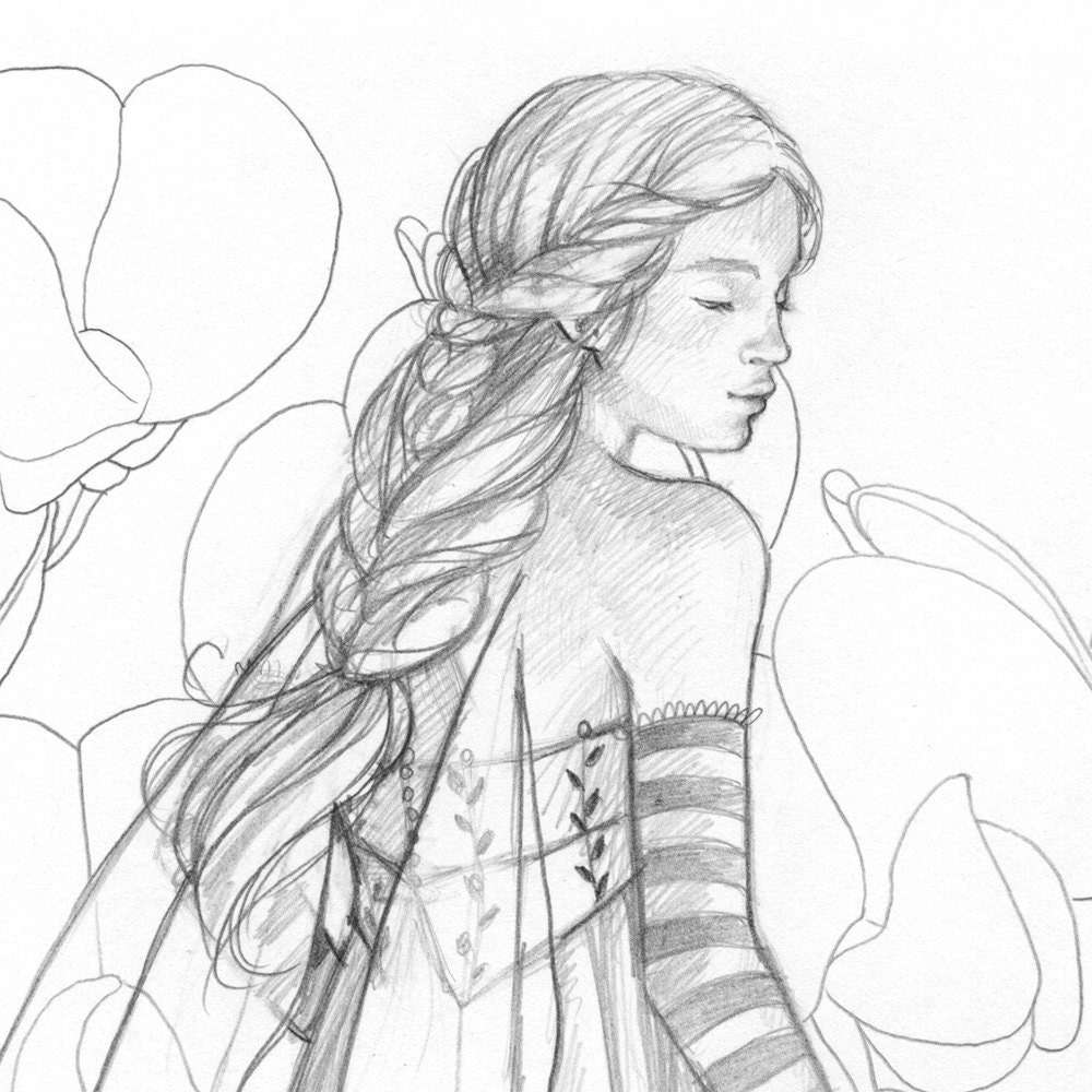 Pencil Drawing Of Fairies | Search Results | Calendar 2015