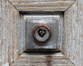 Reserved - Be Mine -  Heart In A Ring  - Mixed Media Assemblage/ Wood Collage - Celebratory - Romantic Love Keepsake