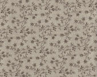 Leaf Vine Quilting Fabric 100% Cotton, 1 Yard Piece, Last Chance.