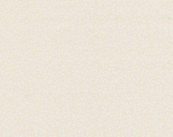 Beige Tiny White Vine Fabric 1 Yard