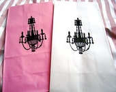 Shabby Chic French Chandelier Gift Bags (set of 10)