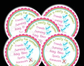 Printable, DIY, Schools Out, Summer, Labels,  stickers, Hang Tags, Teacher, children, kids, school