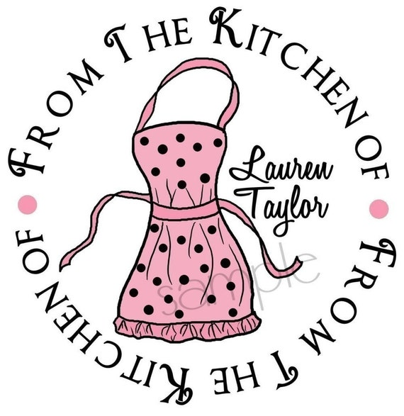 kitchen stickers cooking apron kitchen baking labels tags