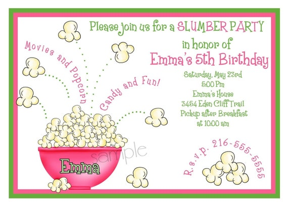 Pyjama Party Invites is great invitation ideas