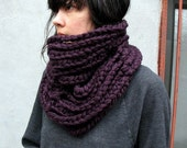 Tall Figgy Wool Cloud Cowl