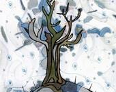 Winter Tree - 8x8 fine art Print