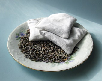 Ten Lavender Laundry Soap Sachets Exclusively from SubEarthan Cottage