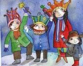 Holiday Cheer 8x10 print