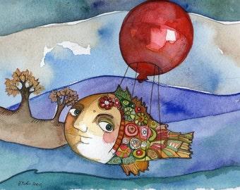 Flying Fish 8x10 Print